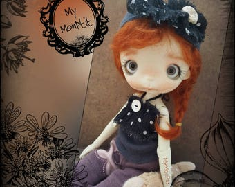 Merry flowerpower 3 piece set for 1/6 bjd  doll outfit blytheclothes yosd clohting for bjd dolls