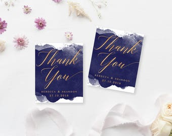 Printable Gift Tags | Customised Favour Tags | Wedding Thank You Tags | DIY Printable Gift Tags | Astarium