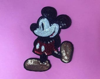 Disney Mickey Mouse sequin patch