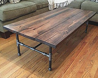 Sale white farmhouse coffee table with shelf for Industrial farmhouse coffee table