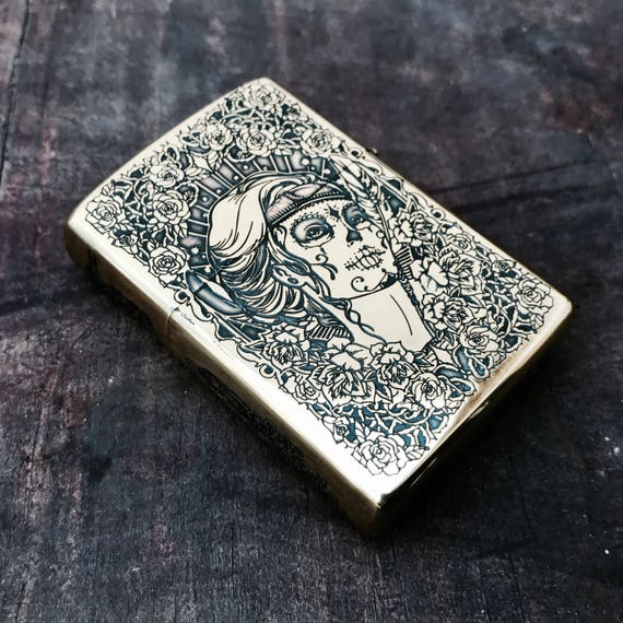 Lighter Double-sided Engraved