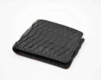 Snakeskin Wallet, Python Wallet, Snakeskin Leather, Snakeskin Purse, Python Purse, Snake Skin Wallet, Leather Wallet