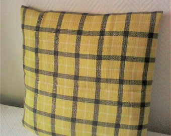Housse coussin 40x40 etsy for Housse coussin portefeuille