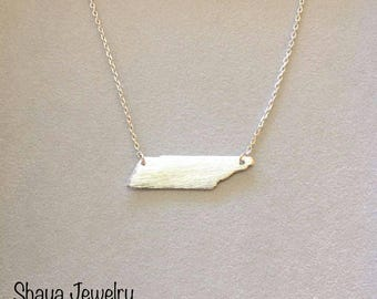"""Necklace 19"""" Silver Plated"""