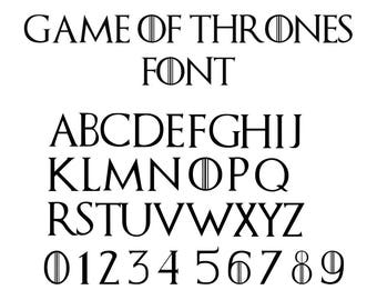 A game of thrones pdf iphone font