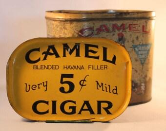 Vintage Camel Brand Cigar tin