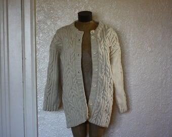 1990s oversized cardigan // vintage sweater