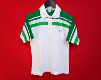 vintage Fred Perry jaspo polo rare design shirt