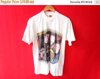 vintage U2 popmart band music concert large tshirt