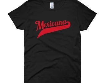 Mexicana Shirt, Mexican Shirt, Mexicana Apparel, Latina Shirt, Mexican Pride, Mexicana Pride, Mexicana, Gift For Her, Girlfriend Gift