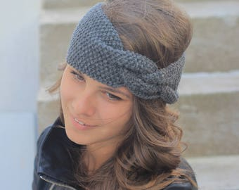 Womens Ear Warmer Knit Headband Women Headband Winter Headband Cable Knit Headband Christmas Gifts for Her Winter Headbands for Women