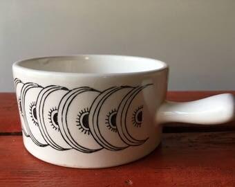 Vintage Soup Bowl, 1950s, Made in Japan