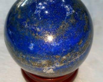 Lapis Lazuli Stone Sphere - lapis lazuli sphere - healing crystals and stones - lapis lazuli crystal sphere - energy crystal ball