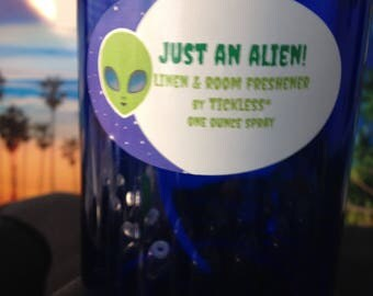 JUST AN ALIEN! Linen & Room Freshener by Tickless* one ounce spray