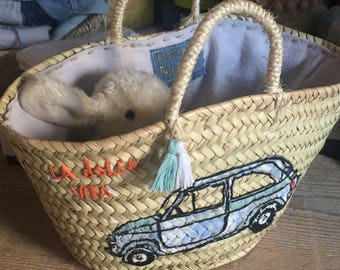 "Small basket ""dolce vita"""