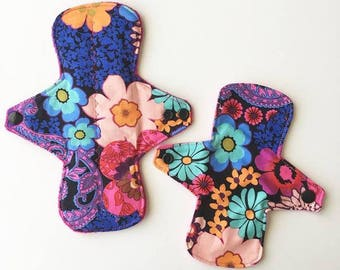 Regular cloth pad and mini day liner Jardin