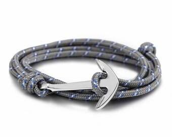 Anchor Rope Bracelet Men