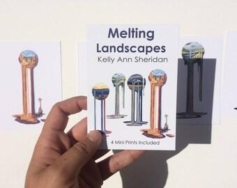 Melting Landscape Mini Prints