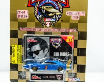 Racing Champions Nascar Legends Bud Moore 1/64 Diecast Car