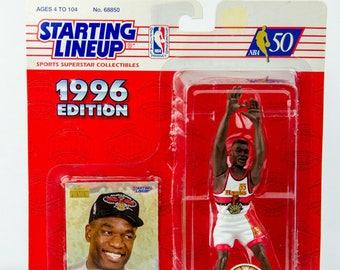 Starting Lineup NBA 1996 Dikembe Mutombo Atlanta Hawks Action Figure