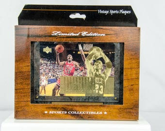 Ultra Rare 1995 Upper Deck The Michael Jordan Collection Plaque