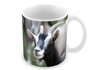 Goat  Ceramic Coffee Mug    Free Personalisation