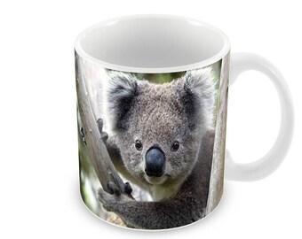 Koala  Ceramic Coffee Mug    Free Personalisation