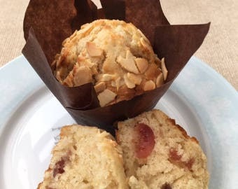 Make your own Cherry & Almond Muffins