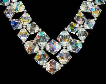 Necklace of Swarovski Crystals