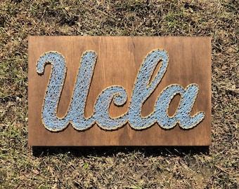String Art - NCAA - UCLA Logo