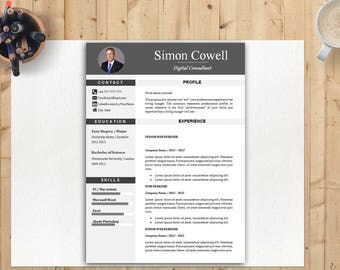 Resume Template For College Student Pdf Resume Template Mac  Etsy Education For Resume Excel with Fashion Resumes Professional Resume Modern Resume Professional Resume Template Word  Cv  Professional Digital Instant Resume Experience Pdf