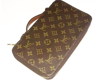 Authentic Vintage Louis Vuitton Monogram Travel/Passport Holder