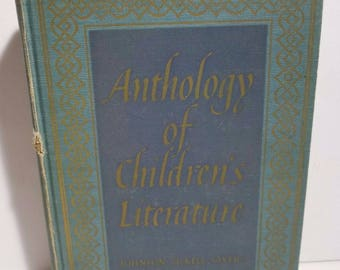 Vintage Anthology of Childrens Literature Third Edition 1959