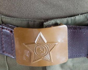 army surplus/military issue Soviet belt