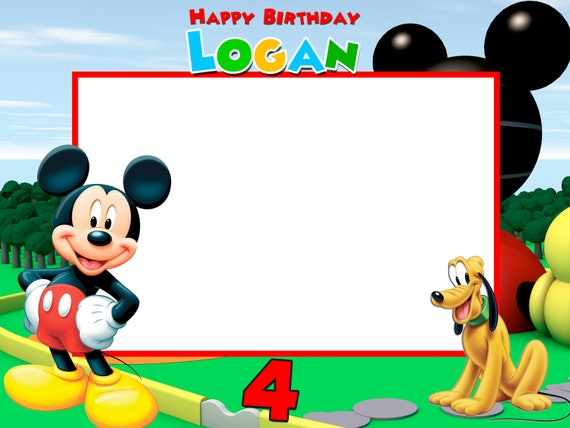 like this item - Mickey Mouse Picture Frame