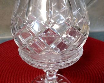 Full lead crystal candleholder