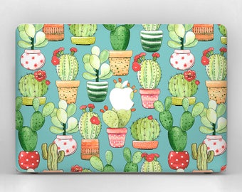 Succulent MacBook Decal Girlfriend Gift MacBook Pro Sticker Mac Pro Decal MacBook Skin MacBook Air Decal Laptop Floral MacBook Pro Decal