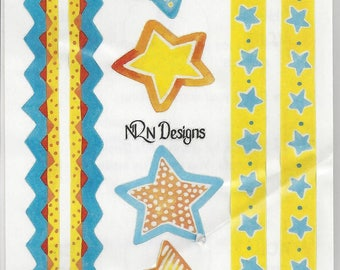 NRN Designs ~ Stars and Borders ~ S5004