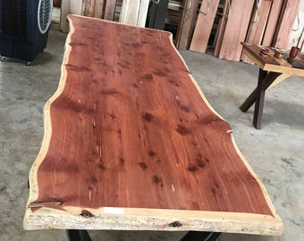 Hand Crafted Live Edge Table