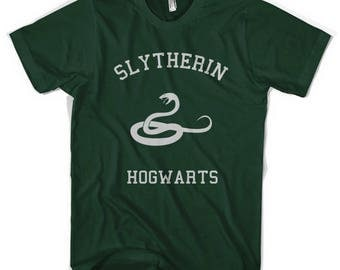 Slytherin Varsity Unisex T-Shirt All Sizes