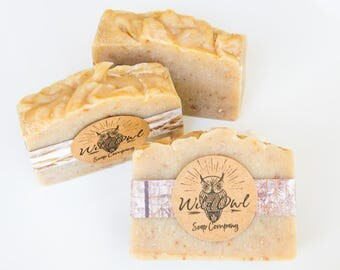 Cedar and Saffron Cold Process Soap