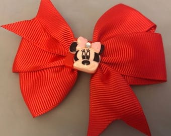Red Minnie Mouse Bow