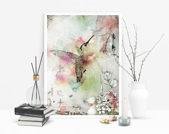 Dancing Middair - Limited Edition Signed Print