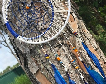 Crecent moon dream catcher