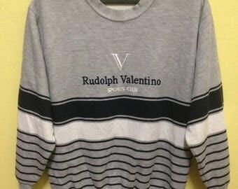 Rare!! Sweatshirt Rudolph Valentino Sport Club