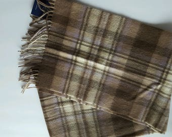 100% Lambswool Scarf from Scotland