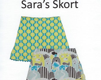 Children's Corner Sewing Pattern #258 / SARA'S SKORT / Sizes 3 - 8