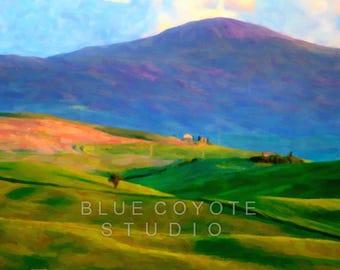 Tuscany Print, Italy Print Tuscany Landscape Print Tuscany Wall Art Digital Download Printable File #bc115