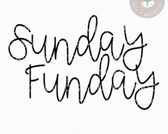 Football SVG, Sunday Funday Svg, Fall is for Football SVG, Football Mom, Sports SVG, Friday Night Lights Svg, Cutting File, Southern svg