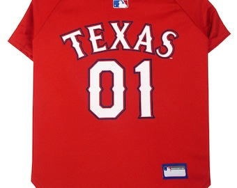 Texas Rangers Dog Jersey / Pet Clothes / Dog Clothes